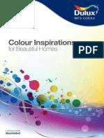 ICI Dulux Colour Inspirations 2012