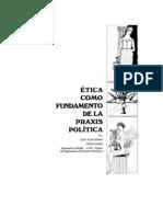 JUAN GUILLERMO PÉREZ ROJAS – Ética como fundamento de la Praxis Política