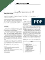 Cefalea Post Anestesisa