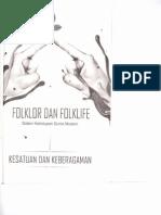 Perlindungan Hukum terhadap Folklor sebagai Hak Milik Kolektif Bangsa Indonesia