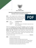 MK Putusan_sidang_40_PUU_X_2012 Tentang Judicial Review Tukang Gigi 15 Jan 2013 - Fin