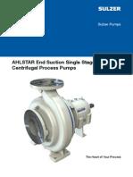 AHLSTAR Pump Catalog