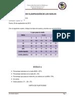 EJERCICIO CLASIFICACIÓN DE LOS SUELOS