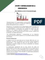 Introduccion y Generalidades de Periodoncia