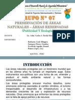 Preservación De Áreas Protegidas - Áreas Reservadas o Protegidas