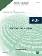 Street_arts in Europ Tesis
