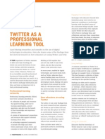 Twitter as a Professional Learning Tool