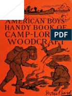 American Boys Handy Book of Camp Lore and Woodcraft - Dan Beard
