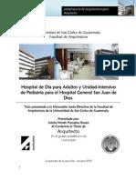 Tesis Hospital San Juan de Dios