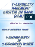 Asset-Liability Management by Sachin Gupta 19-2