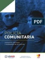 POLICIA_COMUNITARIA_concepto, Metodos y Escenarios