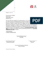 Carta- Presupuesto de Los Libros de Actas- AEDSO