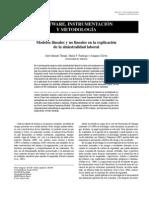 Modelos lineales y no lineales en la explicación