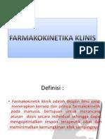 FARMAKOKINETIKA KLINIS