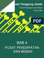 BAB 4 dan Bab 5 Sistem pengendalian Manajemen