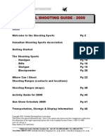 Shooting Guide 2009