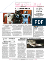 The Daily Tar Heel for October 16, 2013