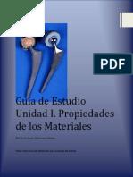 Guía de Estudio Unidad I biomateriales