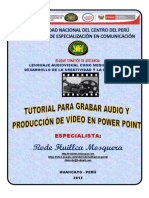 TUTORIAL PARA GRABAR AUDIO Y PRODUCCIÓN DE VÍDEO EN POWER POINT.pdf