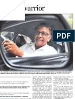 Gopinath Menon - The Tireless Road Safety Warrior
