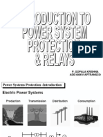 Introduction to Power System Protection & Relays