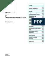 SIMATIC S71200 Manual de Sistema