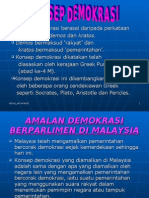 konsep demokrasi di malaysia
