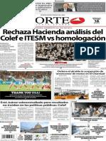Periódico Norte de Ciudad Juárez 16 de Octubre de 2013