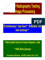 Basics of Radiography Testing and Image Processing