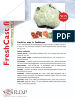 FreshCast wrap for Cauliflower