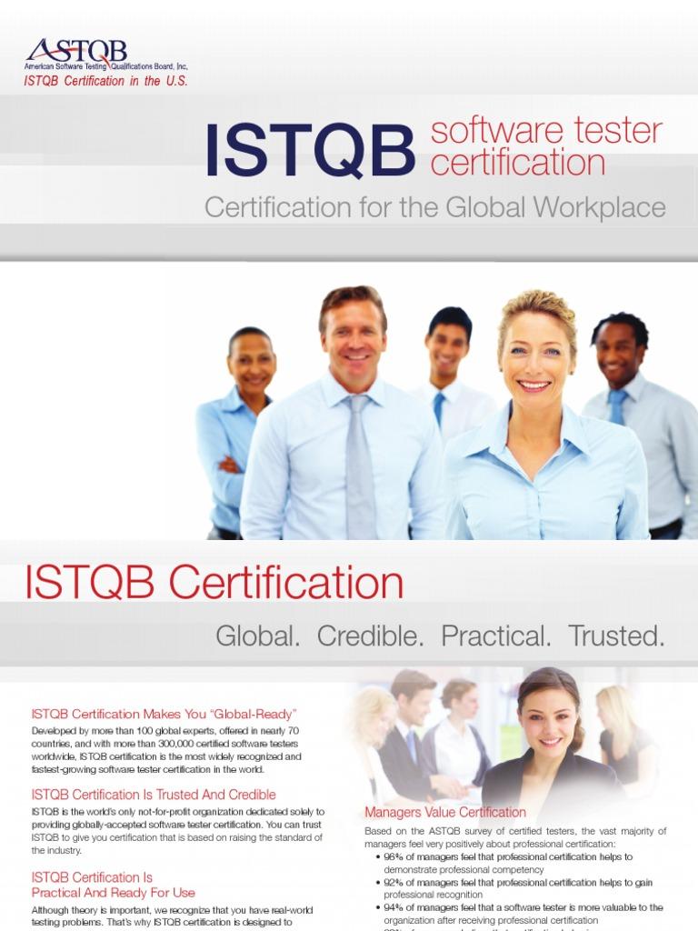 Istqb Certificationpdf International Software Testing