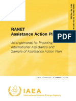RANET Assistance Action Plan Arrangements for Providing International Assistance and Sample of Assistance Action Plan