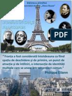 Oameni de cultură români în spaţiul francofon
