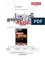 Music is Great Worksheet 1