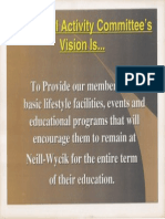 Social Activity Committees Vision Statement