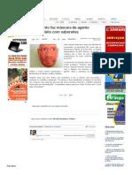 SiteBarra » PB_ detento faz máscara de agente penitenciário com sabonetes