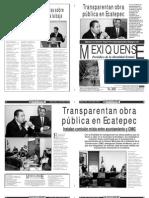 Versión impresa del periódico El mexiquense  16 octubre 2013