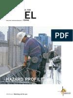 Hazard Profile-Rebar Activity