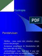 ESOTROPIA