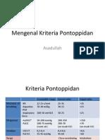 Mengenal Kriteria Pontoppidan
