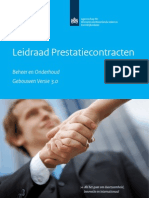 Leidraad Prestatiecontracten Beheer en Onderhoud Gebouwen Vs3.0 Mrt13