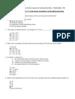 Chemistry Midterm1vAmultchoiceans