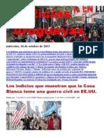 Noticias Uruguayas Martes 15 de Octubre Del 2013