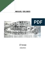 Miguel Delibes_El Hereje Resumen
