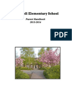 parent handbook sy 2013-14