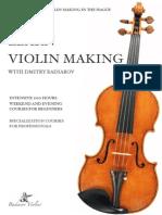 Learn Violin-making With Dmitry Badiarov