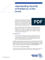 Understanding Security and Resilience of the Internet