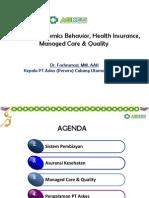 2. Physician Behavior-Managed Care