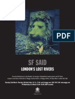 London Lost Rivers Expo