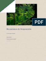 MECANISMOS DE DESPOSESIÓN
